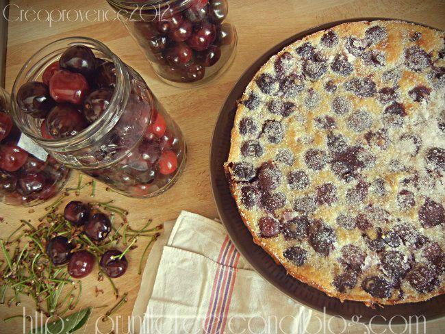 Recette du clafoutis - cherry cake - {et différentes RECETTES AVEC DES CERISES } (tout est bon dans la cerise ! astuces !)