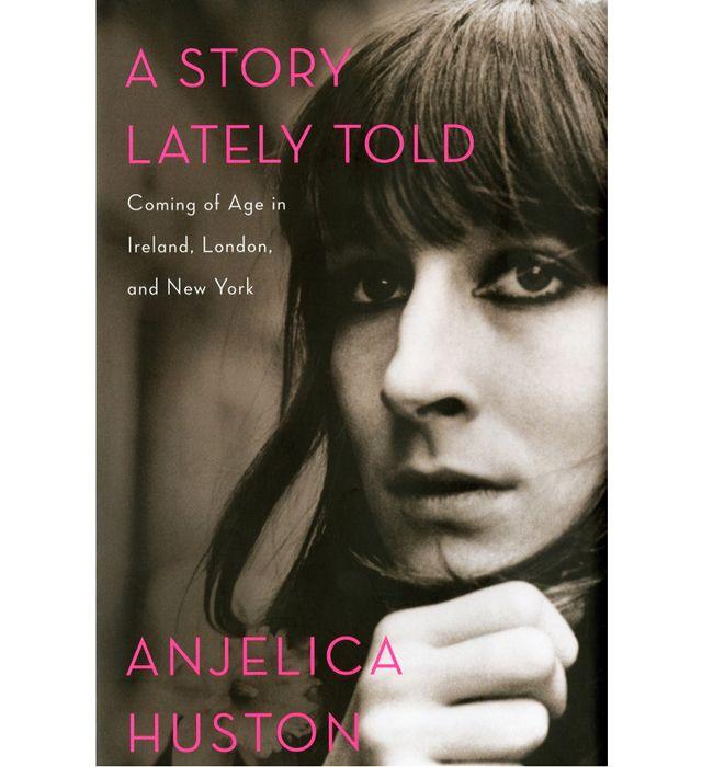 """Анжелика Хьюстон написала автобиографию под названием """"История, рассказанная позже""""  Источник: http://www.buro247.ru/media/books/anzhelika-khyuston-napisala-knigu.html"""