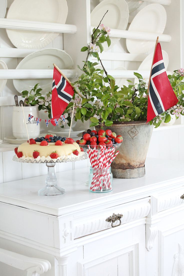 "Vibeke Design celebrating the Norwegian nationalday ""17 mai""."