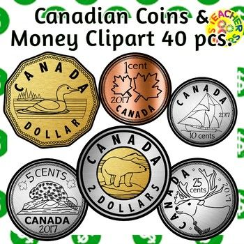 Money, Coins, bank, cash register, this money clipart set has it all. The coins are realistic in design. There is a loonie, toonie, quarter, nickel, dime and penny. This set also contains a very unique feature. Coins that STACK! This is awesome for