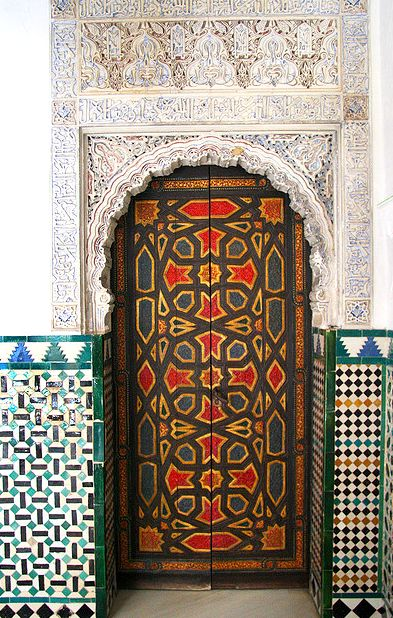 Special Door - Alhambra. Andalusia, Spain. By Ziggy Beckers