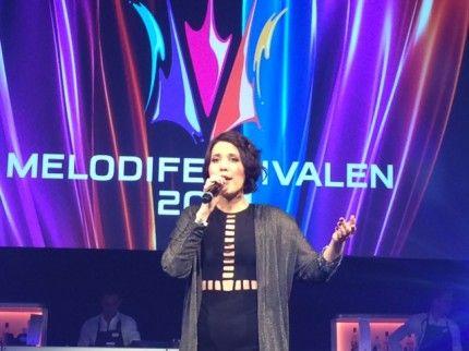Festen efter finalen i Stockholm- Ellen Benediktson