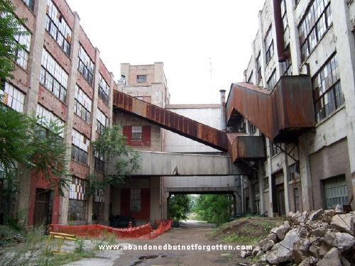Studebaker Plant South Bend Indiana Abandoned Places