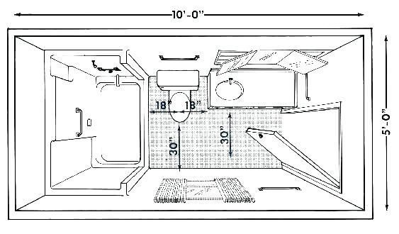 Small Bathroom Layout With Shower Only Bathroom Shower Plans