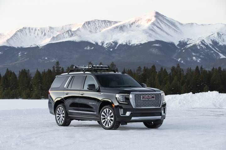 Gmc Introduces 2021 Yukon At4 And Denali In 2020 Gmc Yukon Denali Gmc Yukon Yukon Denali