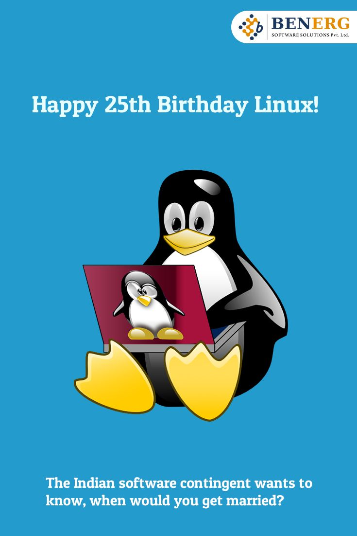 #Happy #25th #Birthday #Linux..:)