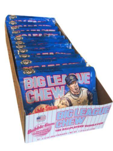 Big League Chew Bubble Gum- Cotton Candy