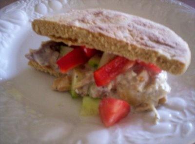 365 Days of Slow Cooking: Day 126: Greek Chicken Pita Folds