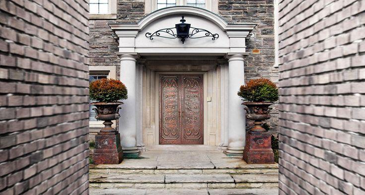 Eingangsportal mit Kupferdeck