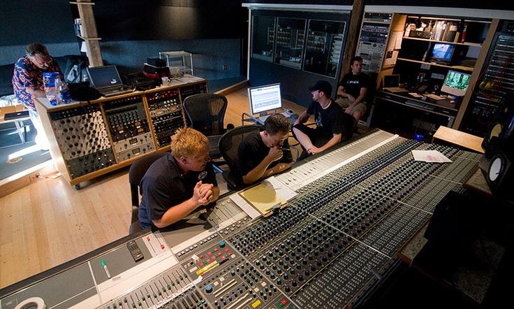 The Warehouse Studio Control Room