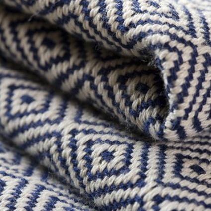 Noonday faves - herringbone throw: Herringbone Throwx, Noonday Collection, Amazing Herringbone, Blue Bedrooms, Ayla Throw, Around The World, Weaving Throw, Cotton Throw, Throw Blankets