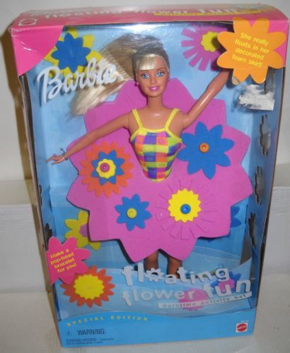 5913 Mattel Ames Stores Floating Flower Fun Barbie Doll Special Edition | eBay