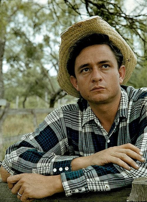 Johnny Cash ~ 1959 ~ I was 12 years old when I saw this picture and not only did he became my favorite singer, I really thought I would grow up and marry him!