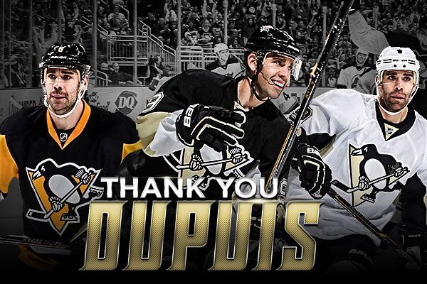 Pascal Dupuis announces that he will no longer play hockey. Send him a message here.