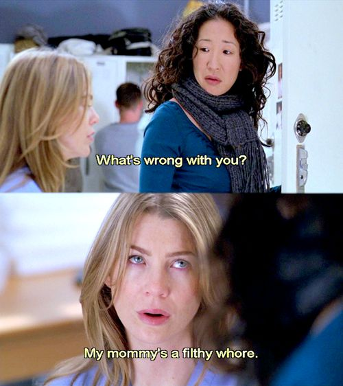 Christina and Meredith Friendship Quotes   Free Download Cristina Yang Ellen Pompeo Ga 8x21 Gif Quote Grey S ...