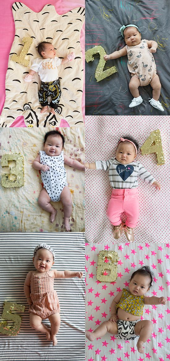 "If you're a first time mom in recent years, you probably know a growing trend is to capture each one of your baby's month ""birthdays"" by taking a cute photograph. There are so many ways to do this that are unique …"