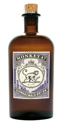 Retro design - Monkey 47 Swarzwald Dry Gin