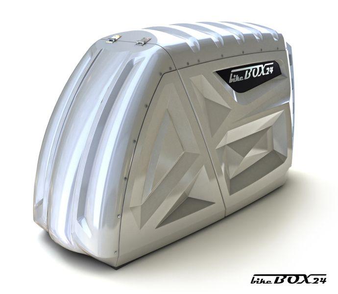 bikeBox 24 bietet eine innovative Motorradgarage zur Sichherheit Ihres Motorrades. Abschließbar, wetterfest und praktisch sind die transportablen Einzelgaragen von bikeBox 24. Die Garagen können ohne Baugenehmigung aufgestellt werden.