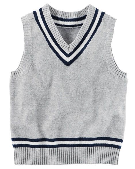 Kid Boy Sweater Vest from Carters.com. Shop clothing & accessories from a trusted name in kids, toddlers, and baby clothes.