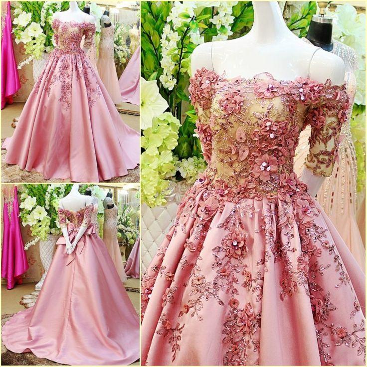 Cheap Brillante con lentejuelas Abaya marroquí vestido largo árabe Kaftan mujeres largo elegante lazo rosa vestido de noche de lujo 2015 vestido longo, Compro Calidad Vestidos de Noche directamente de los surtidores de China: