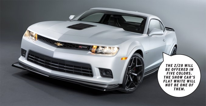 Dissected: 2014 #Chevrolet #Camaro #Z/28  The 2014 Camaro Z/28 celebrates its road-course-conquering roots.