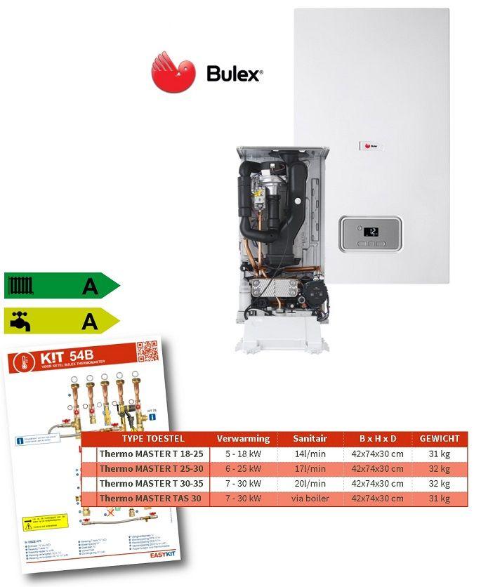 Bulex Zuinige En Betaalbare Condensatie Ketel Easykit Ketel Zuinig Warmtewisselaar
