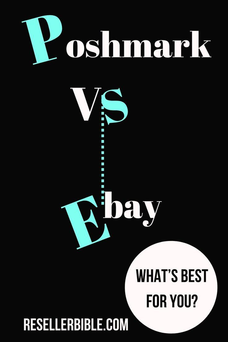 Poshmark vs eBay Which is Really Better? Ebay hacks