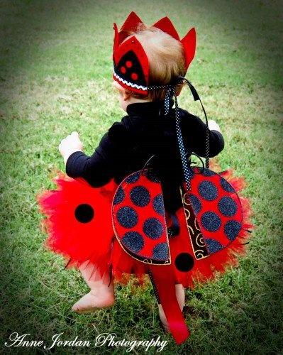 Little Ladybug Baby Toddler Halloween Portrait Costume Tutu | baby2bnashville - Clothing on ArtFire