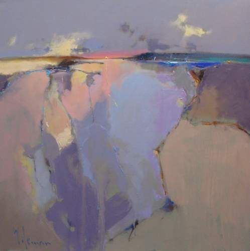 Sunset over the Western Isles by Peter Wileman PROI ARSMA FRSA