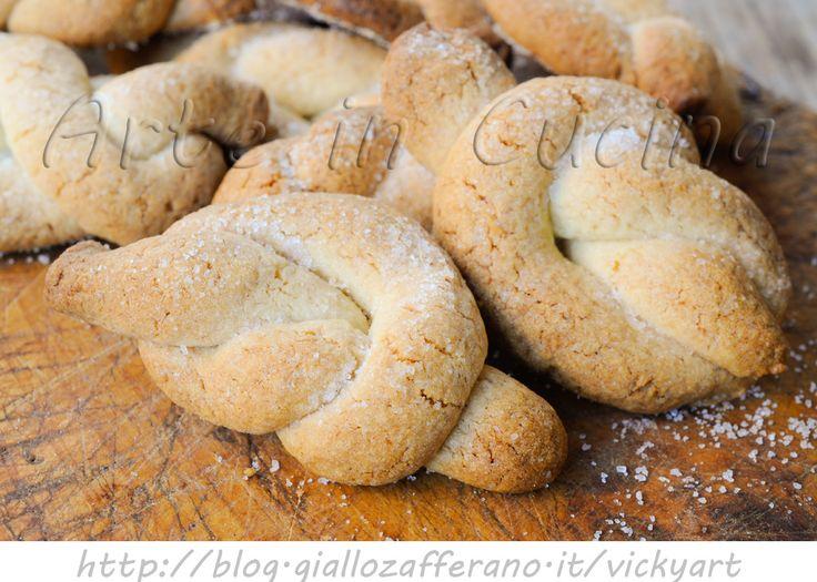 Nodini di frolla biscotti al limone facili e veloci