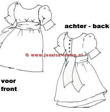 image about Free Printable 18 Doll Clothes Patterns known as Antique Dolls Garments Designs - WoodWorking Tasks Options