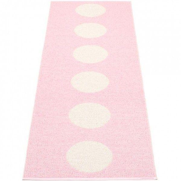 Vloerkleed pappelina Vera roze - kinderkamercompany beste deal!