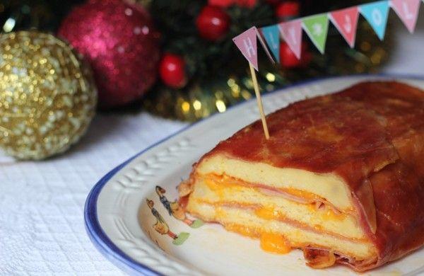 Pastel de Jamón y Queso |