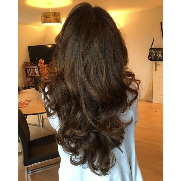 Chocolate brown hair color ❤ liked on Polyvore featuring beauty products