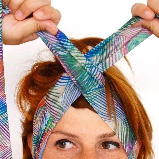 FoudreTurbans - Comment nouer un bandeau à cheveux http://foudre-turbans-shop.com/comment-porter-un-bandeau-a-cheveux-ou-un-turban/