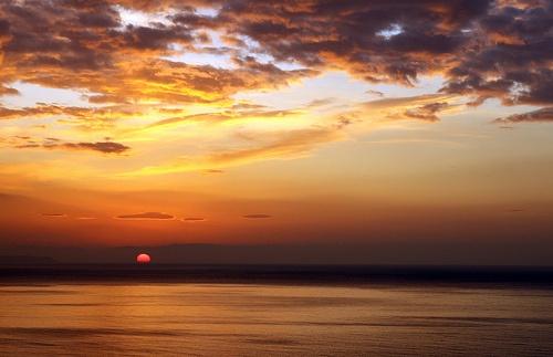 Sunset, Saunton Sands, North Devon, England