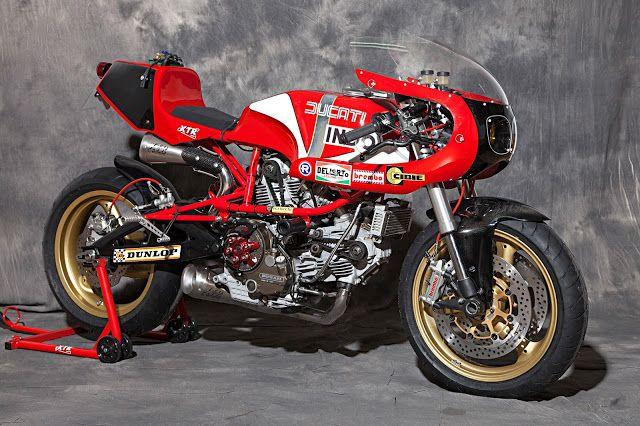 """Racing Cafè: Ducati Pantah TL 600 1983 """"Bol D'Or"""" 2015 by XTR PEPO"""