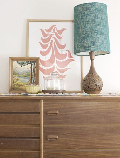 Style It: Bedroom Dressers - good tips like hooks for hats, trays to contain small items and a bowl to catch pocket items