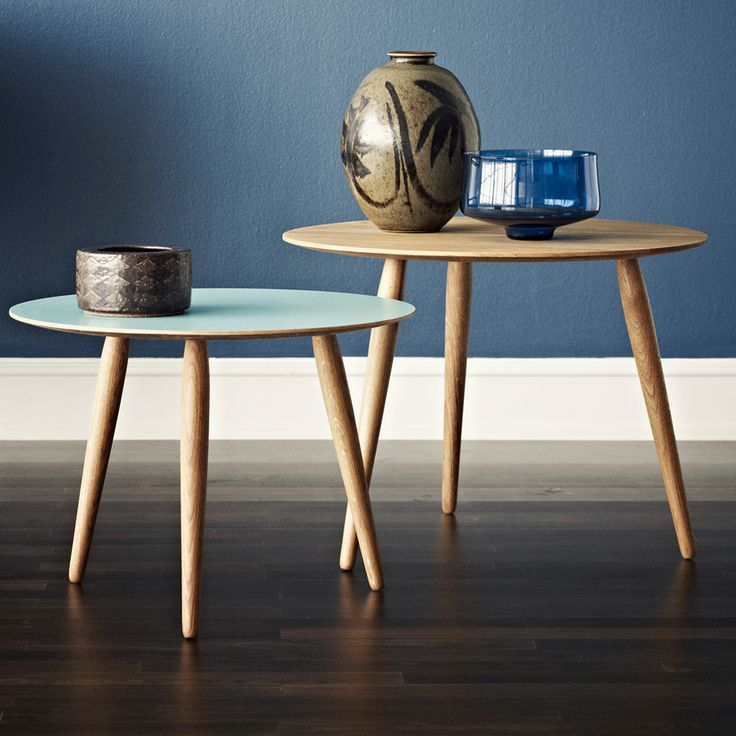 Playround soffbord - valnöt, skiva grotto, ø52 h32 cm - Soffbord & småbord – Möbler från Svenssons i Lammhult