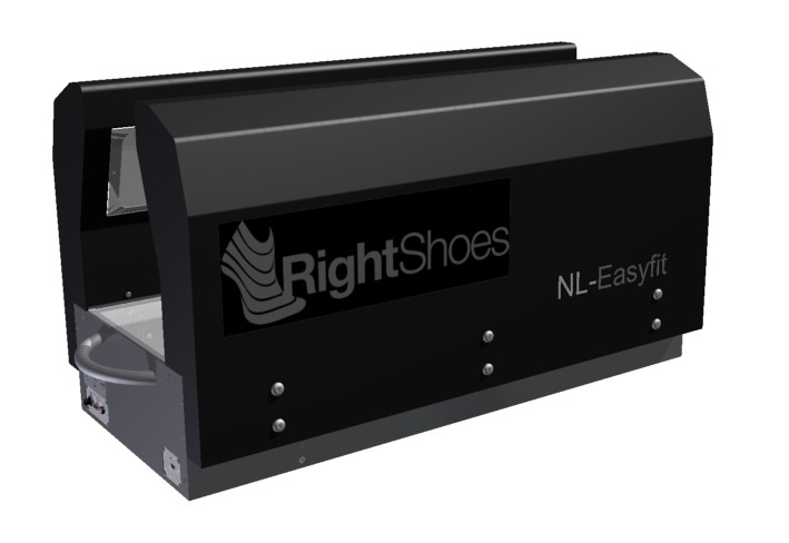 3D Foot Scanner NL-Easyfit - Right Shoes  www.rightshoes.ch