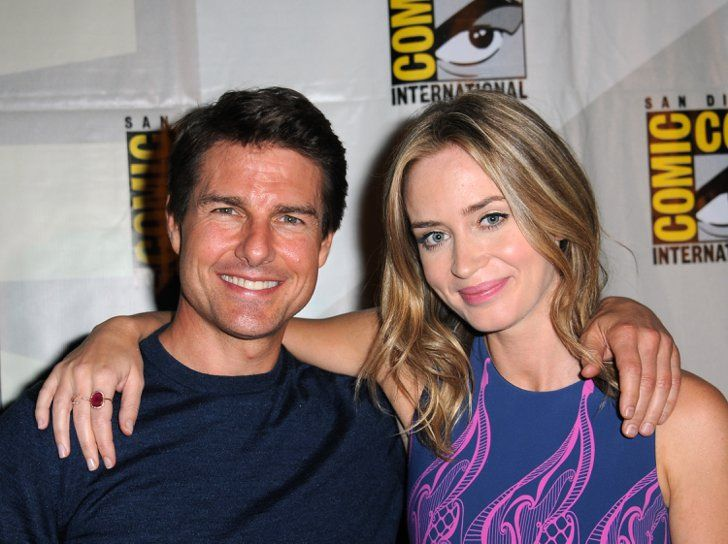"Pin for Later: How Emily Blunt Took On Tom Cruise's ""Insatiable Positivity"" and Won"