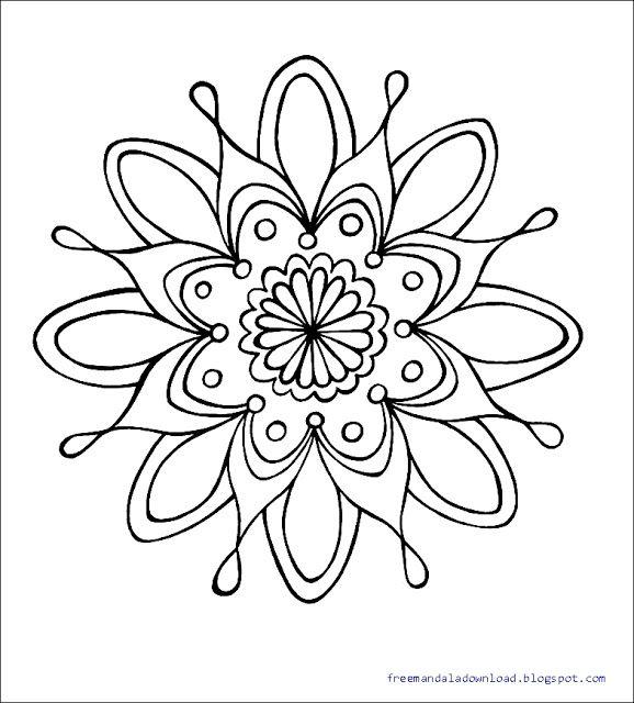Download 2bmandala 2bcoloring 2bpages 5 In 2020 Mandala Malvorlagen Mandala Ausmalen Malvorlagen