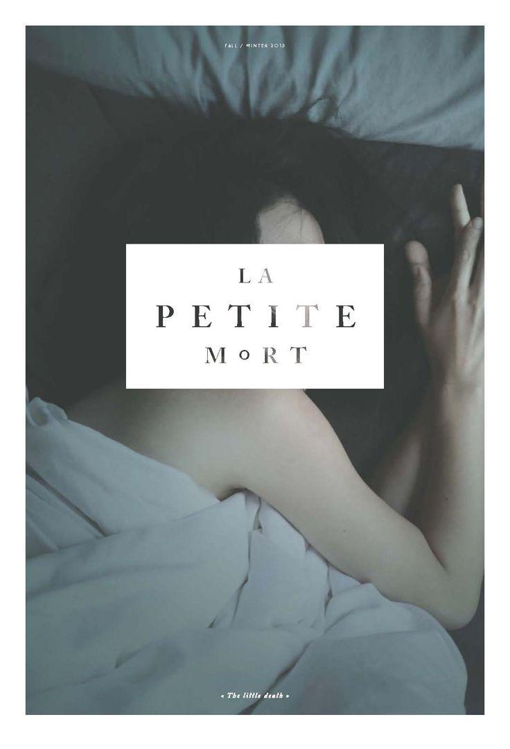 ✖ La Petite Mort, issue 1