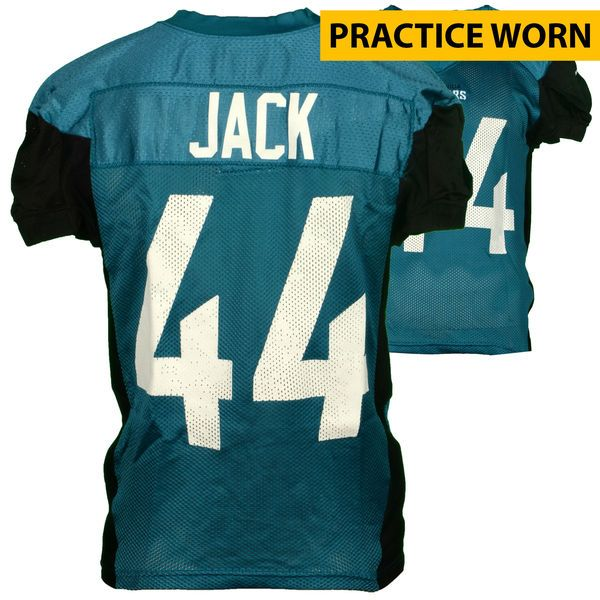 22525060f ... Myles Jack Jacksonville Jaguars Fanatics Authentic Practice-Used 44  Teal and Black Jersey from Womens Nike ...
