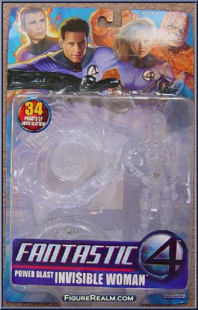 Invisible Woman (Power Blast) from Fantastic Four - Movie - Series 1 manufactured by Toy Biz [Invisible]