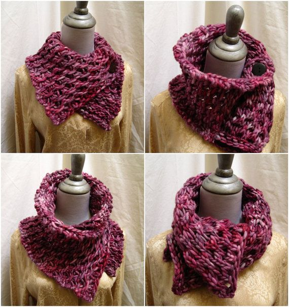 hand knitting pattern PDF for Tectum- Deep within The Hive 'Rasta' Cowl fully reversible great textures