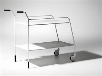 Karla trillevogn - hvit - SMD Design