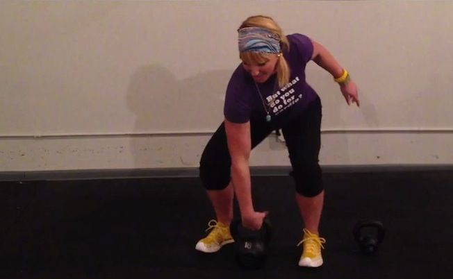 The kettlebell clean is a complicated exercise that can be tidied up with these three super-simple cues.