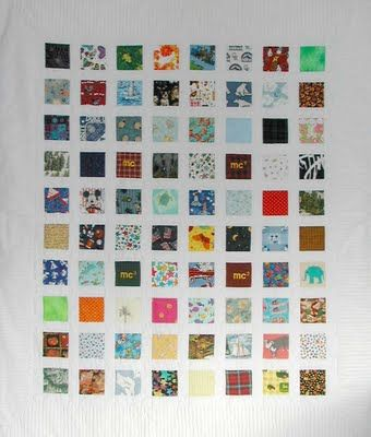 Memory Quilts from Baby Clothes - Memory Quilts by Molly