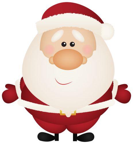 Cute cartoon christmas santa - photo#53